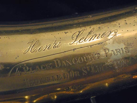 Henri Selmer Signature Series C-Melody - 941 - Photo # 16