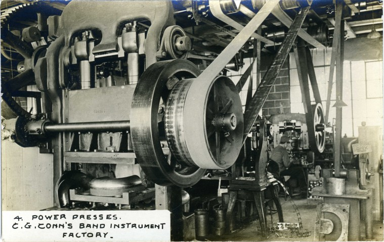C.G. Conn's Band Instrument Factory-Power Presses