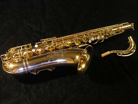 Selmer Gold Plate Super Tenor - 17354 - Photo # 1