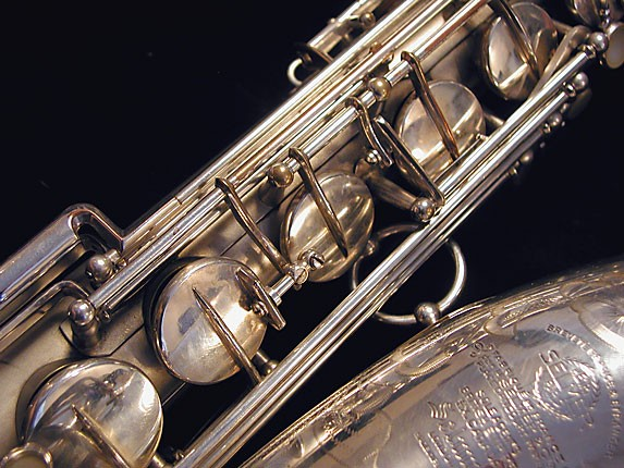 Selmer Matte Silver Super Balanced Action Tenor - 38812 - Photo # 14