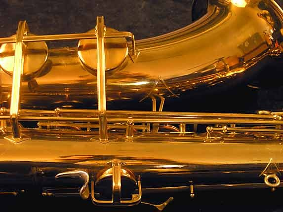 "Buescher Lacquer Aristocrat ""Big B"" Tenor - 305859 - Photo # 13"