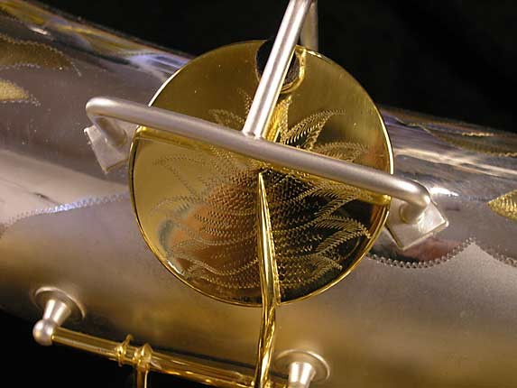 King Custom Silver & Gold Plate Zephyr Baritone - 179421 - Photo # 18