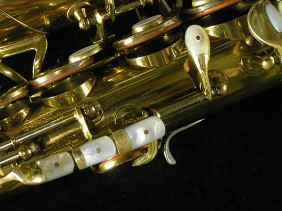 King Lacquer-Sterling Neck Super 20 Alto - 303393 - Photo # 13