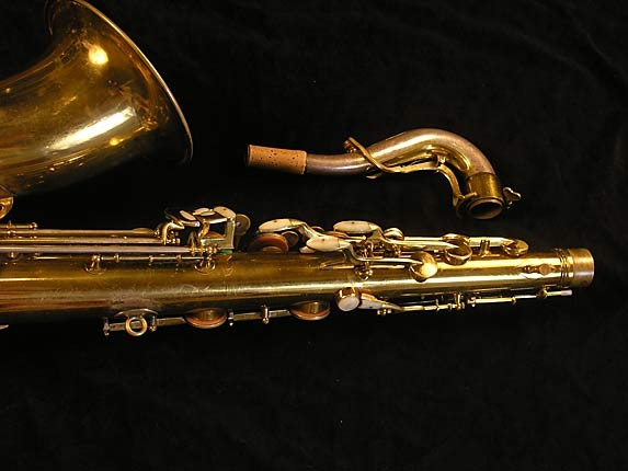 King Lacquer-Sterling Neck Super 20 Tenor - 303251 - Photo # 6