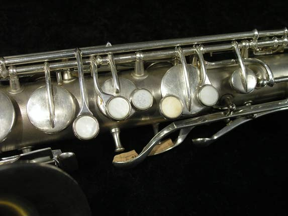 C.G. Conn Silver Plate New Wonder Tenor - 144667 - Photo # 7