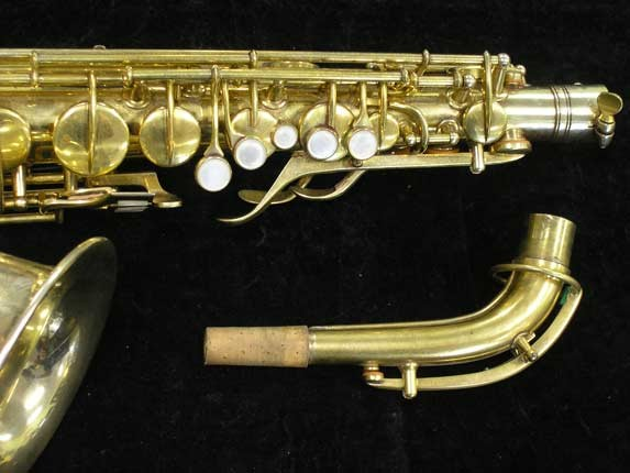 "Conn ""Portrait"" Gold Plate ""Angel"" Alto - 180010 - Photo # 4"