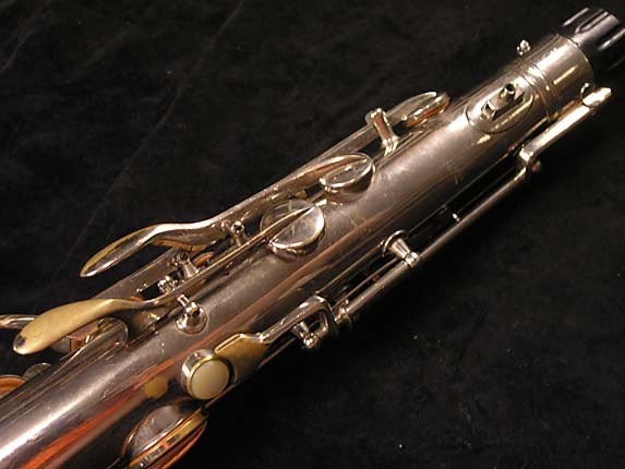 Conn Nickel Plate Chu Berry Tenor - 192220 - Photo # 9