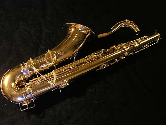 Selmer Gold Plate Super Tenor - 17354 - Photo # 2