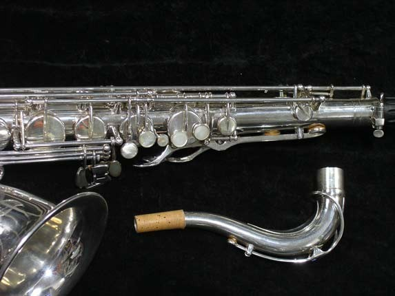 Selmer Silver Plate Mark VI Tenor - 134726 - Photo # 3