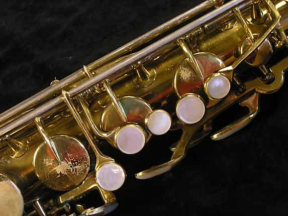 King Lacquer-Sterling Neck Super 20 Tenor - 303251 - Photo # 7