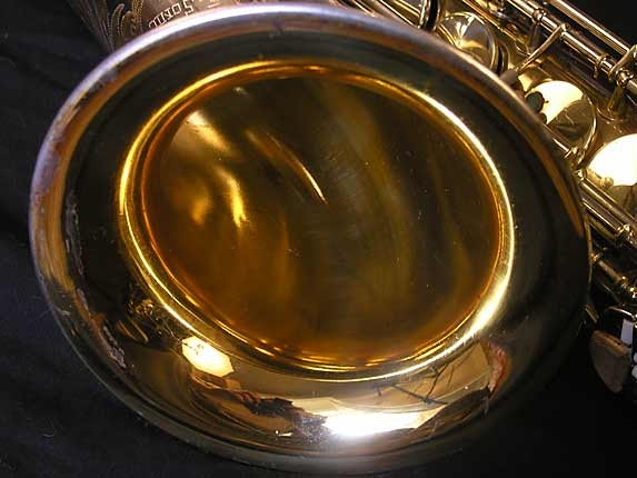 King Silver-Sonic Gold Inlay Super 20 Tenor - 385231 - Photo # 10