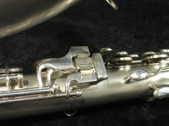 C.G. Conn Silver Plate New Wonder Tenor - 144667 - Photo # 8