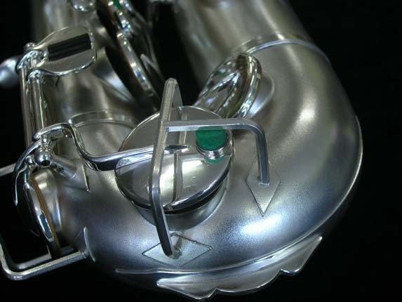 Buescher Silver Plate New Aristocrat Alto - 263859 - Photo # 15