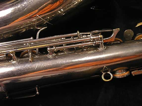 Conn Nickel Plate Chu Berry Tenor - 192220 - Photo # 10