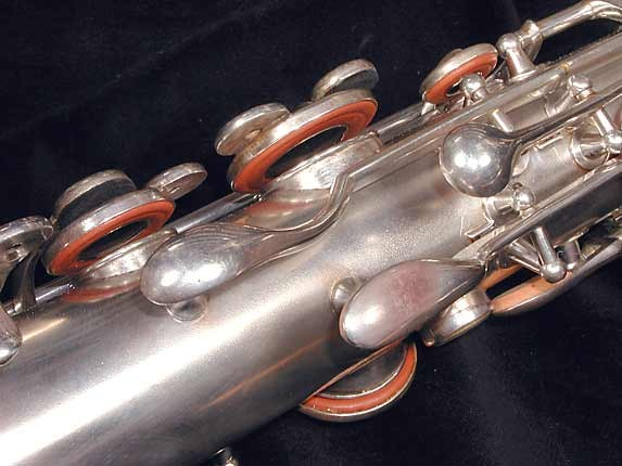 "Conn ""New Wonder"" Matte Silver Plate Tenor - 77595 - Photo # 12"