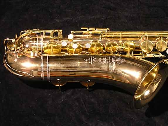Selmer Gold Plate Super Tenor - 17354 - Photo # 3