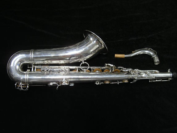 Selmer Silver Plate Mark VI Tenor - 134726 - Photo # 4