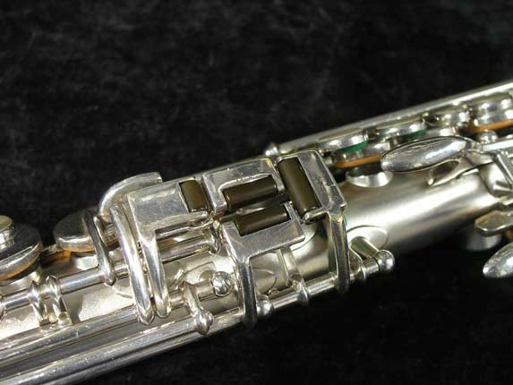 Buescher Silver Tipped Bell True Tone Soprano - 234860 - Photo # 10