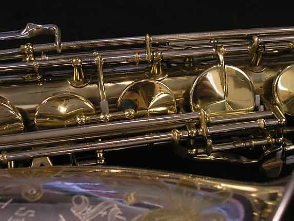 King Silver-Sonic Gold Inlay Super 20 Tenor - 385231 - Photo # 11