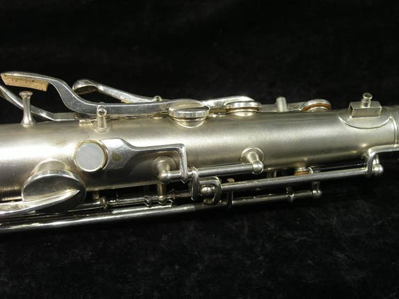 C.G. Conn Silver Plate New Wonder Tenor - 144667 - Photo # 9