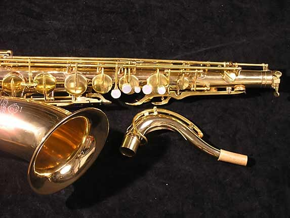 Selmer Gold Plate Super Tenor - 17354 - Photo # 4