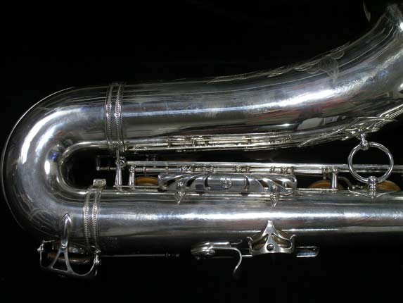 Selmer Silver Plate Mark VI Tenor - 134726 - Photo # 5