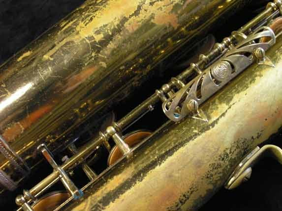 "Selmer Lacquer Mark VI ""Low A"" Baritone - 81129 - Photo # 18"