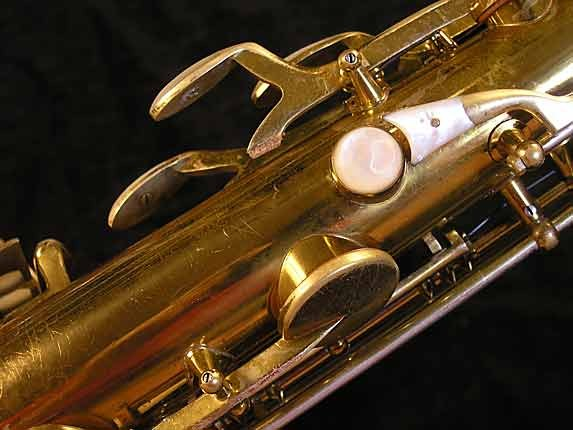 King Lacquer-Sterling Neck Super 20 Tenor - 303251 - Photo # 9