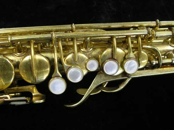 "Conn ""Portrait"" Gold Plate ""Angel"" Alto - 180010 - Photo # 7"