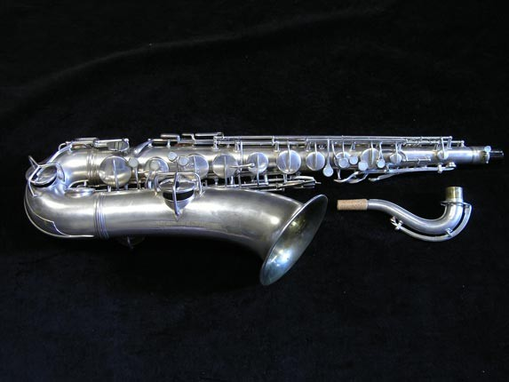 "Conn ""New Wonder"" Matte Silver Plate Tenor - 98888 - Photo # 1"