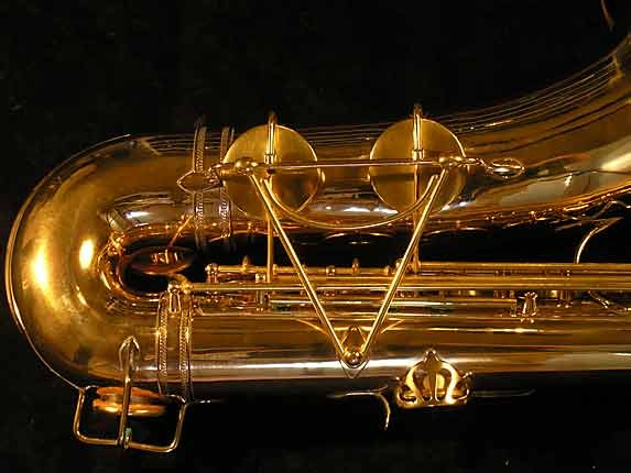 Selmer Gold Plate Super Tenor - 17354 - Photo # 5