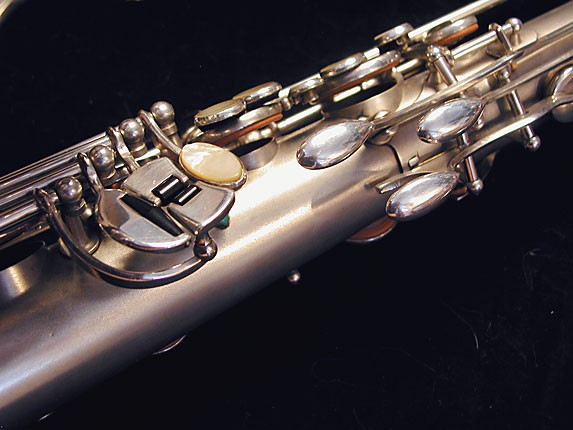 Selmer Matte Silver Super Balanced Action Tenor - 38812 - Photo # 18