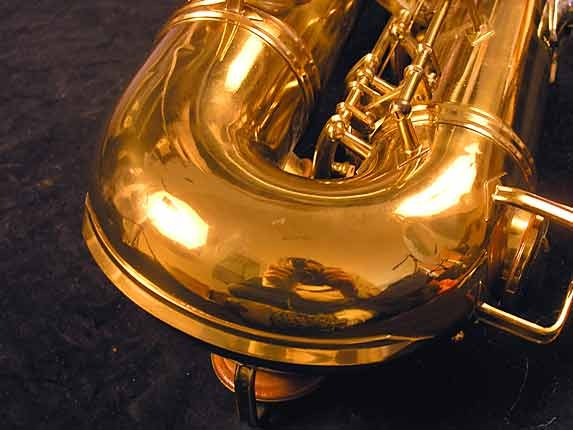 "Buescher Lacquer Aristocrat ""Big B"" Tenor - 305859 - Photo # 17"