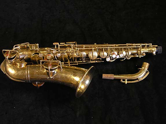 "Martin Gold Plate ""Elkhart"" Alto - 56694 - Photo # 1"