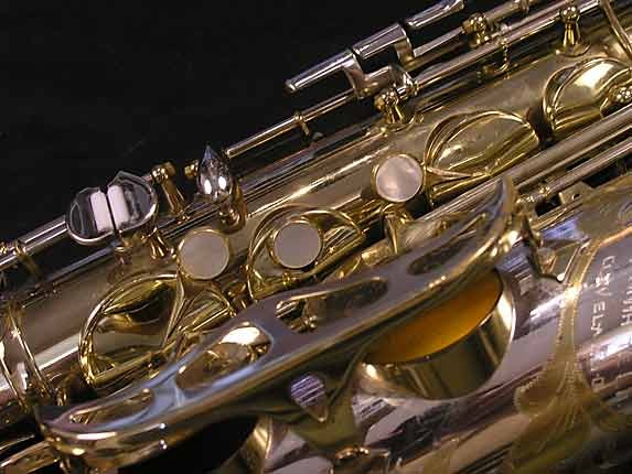 King Silver-Sonic Gold Inlay Super 20 Tenor - 385231 - Photo # 13