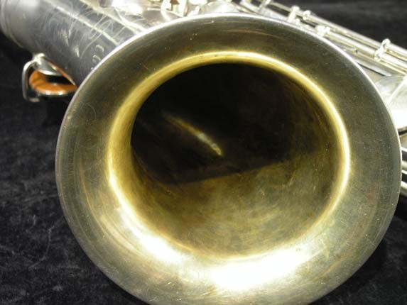 C.G. Conn Silver Plate New Wonder Tenor - 144667 - Photo # 11