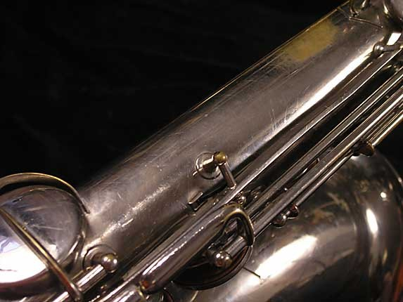 Conn Nickel Plate Chu Berry Tenor - 192220 - Photo # 13