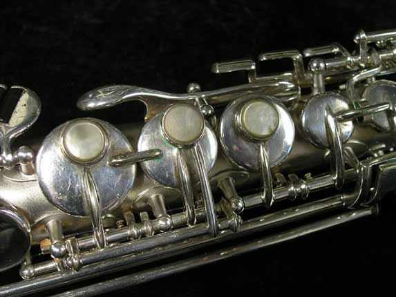 Buescher Silver Tipped Bell True Tone Soprano - 234860 - Photo # 13