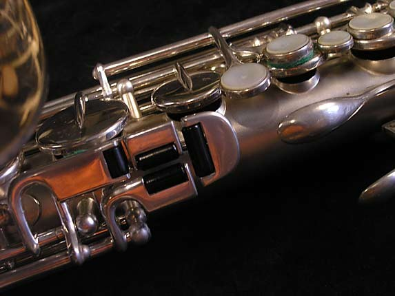 Buescher Silver Plate True Tone Alto - 211895 - Photo # 8