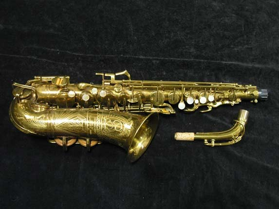 "Buescher Lacquer Aristocrat ""Big B"" Alto - 295790 - Photo # 1"