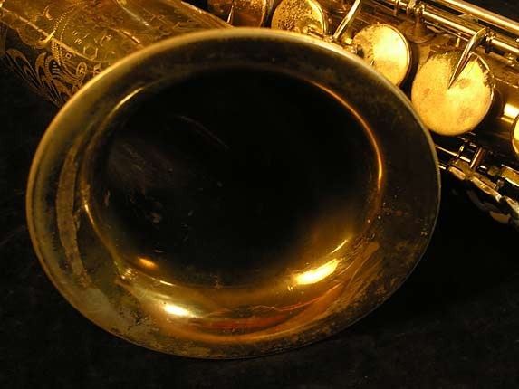 King Lacquer-Sterling Neck Super 20 Tenor - 303251 - Photo # 11