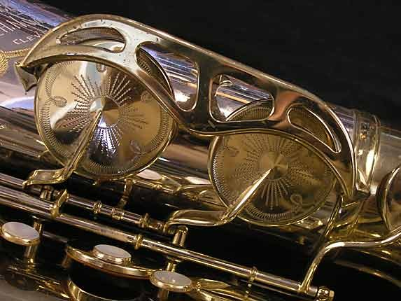 King Silver-Sonic Gold Inlay Super 20 Tenor - 385231 - Photo # 14