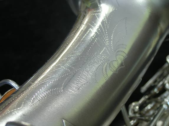 Buescher Silver Plate New Aristocrat Alto - 263859 - Photo # 19