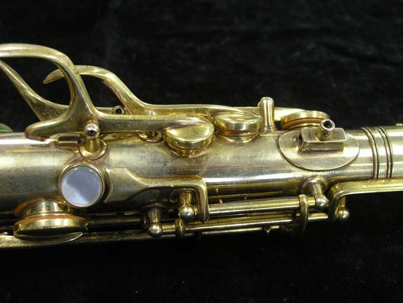"Conn ""Portrait"" Gold Plate ""Angel"" Alto - 180010 - Photo # 9"