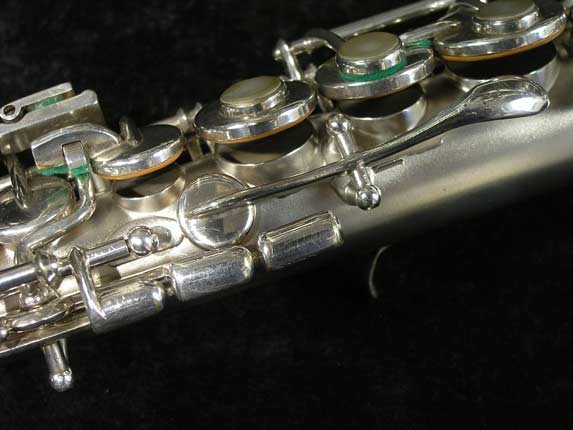 Buescher Silver Tipped Bell True Tone Soprano - 234860 - Photo # 14