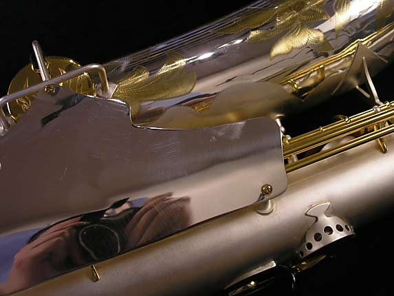 King Custom Silver & Gold Plate Zephyr Baritone - 179421 - Photo # 24