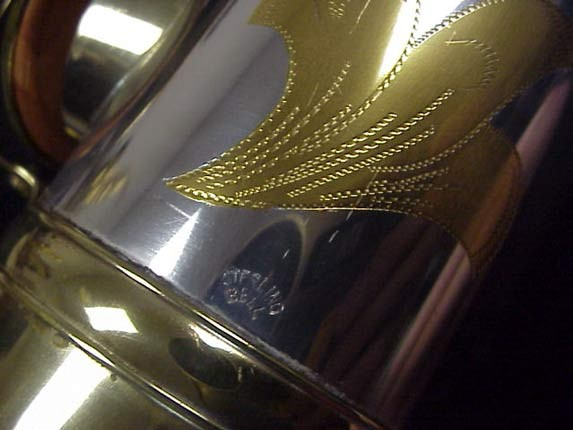 King Silver-Sonic Gold Inlay Super 20 Tenor - 532373 - Photo # 11