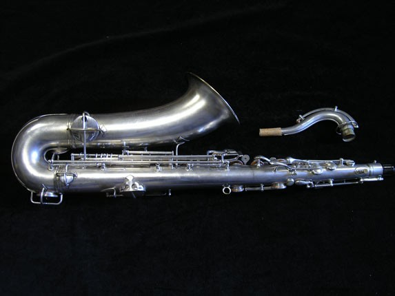 "Conn ""New Wonder"" Matte Silver Plate Tenor - 98888 - Photo # 4"