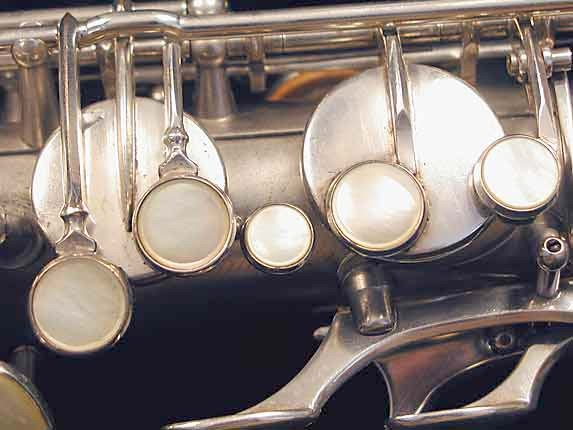 Selmer Matte Silver Super Balanced Action Tenor - 38812 - Photo # 21