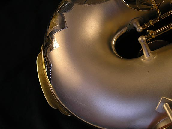 King Custom Silver & Gold Plate Zephyr Baritone - 179421 - Photo # 25
